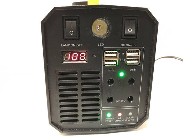 Uninterruptilbe Power Supply (UPS) Front Connections