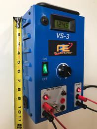 Allied Edison VS-3 power supply height