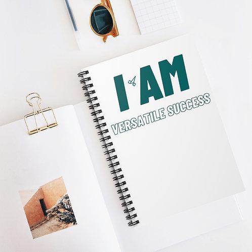 Versatile Success Spiral Notebook - Ruled Line