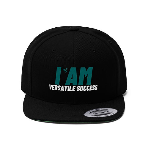 Versatile Success Unisex Flat Bill Hat
