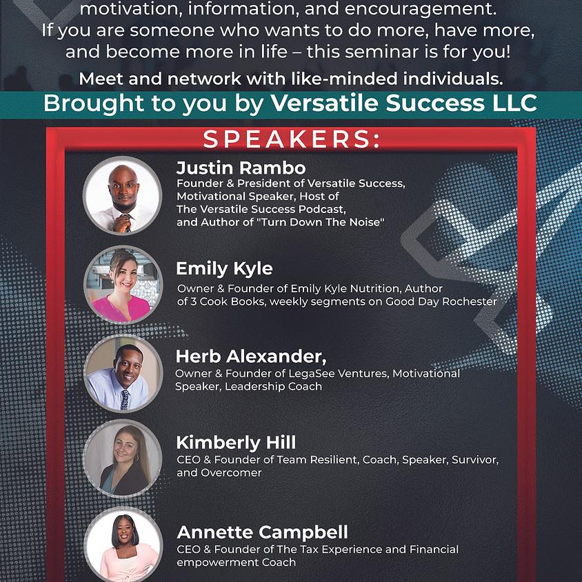 Strive to Thrive Seminar - Rochester, NY