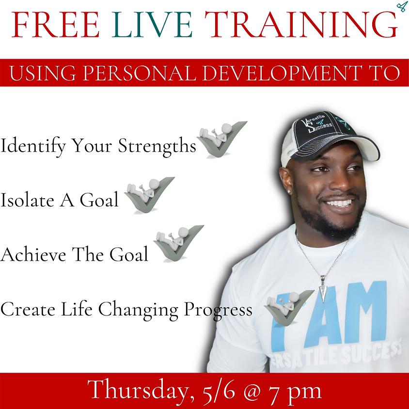 Using Personal Development Training