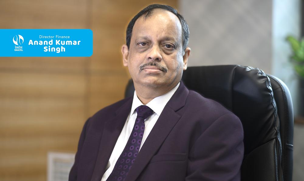 Anand Kumar Singh, Director Finance, RailTel