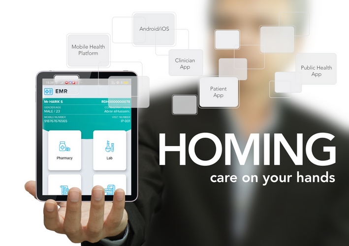 Homing — Care on your hands