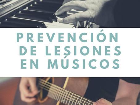 Importancia de la fisioterapia en los músicos