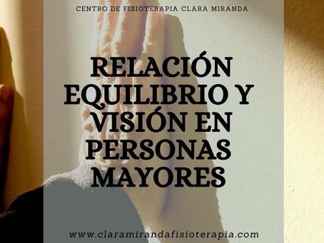 Relación entre visión y equilibrio en personas mayores