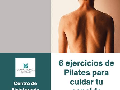 6 ejercicios de Pilates para prevenir el dolor de espalda