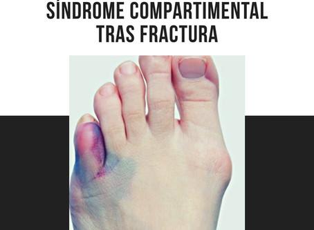 ¿ Qué es el síndrome compartimental tras una fractura o rotura muscular?