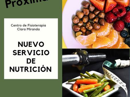 Próximamente :Servicio de nutrición y dietética