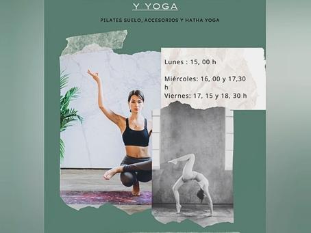 Clases grupos reducidos Pilates y Yoga en Delicias, Zaragoza
