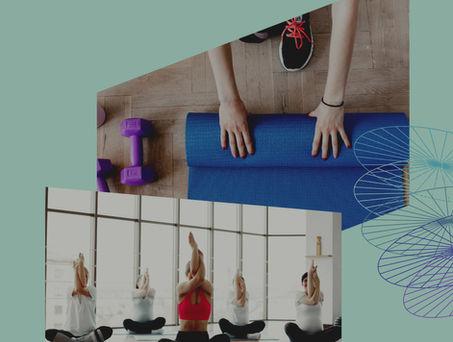 Clases grupales de Pilates suelo y Hatha Yoga en Zaragoza