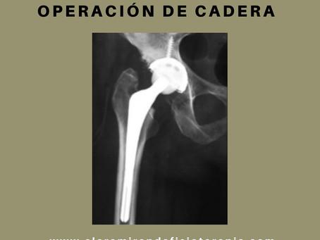 ¿Qué precauciones tengo que tener tras una cirugía de cadera?