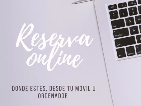 Reserva tu cita con nosotros por Internet