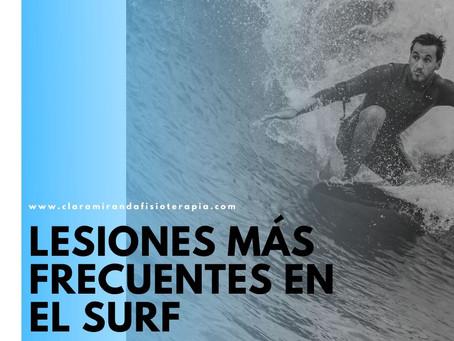 Lesiones más frecuentes en surfistas