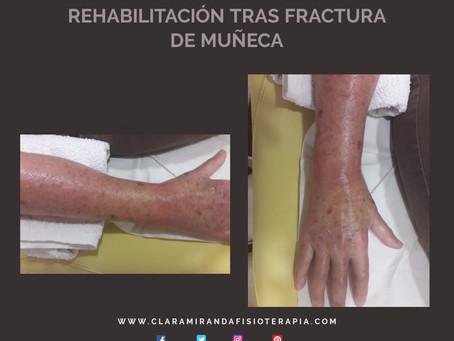 Rehabilitación tras fractura de muñeca