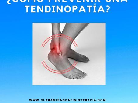 ¿Se puede prevenir una tendinopatía?
