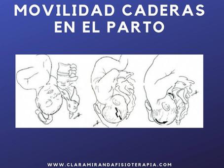 Movilidad pelvis y caderas en el parto.