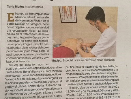 Celebración del día mundial de la fisioterapia