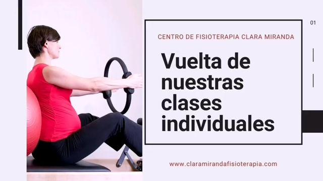 Clases individuales de Pilates, hipopresivos, yoga y stretching