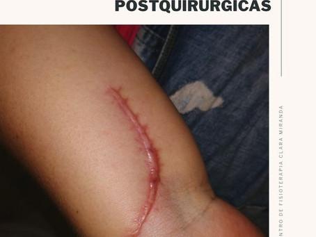 Tratamiento de cicatrices postquirúrgicas