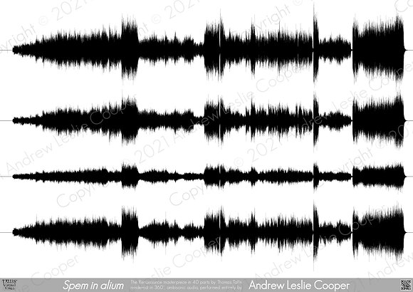 Ambisonic Waveform Poster