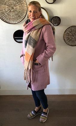 Sjaal in Pastel Kleuren