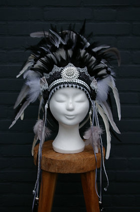 Verentooi Zwart Wit Zilver