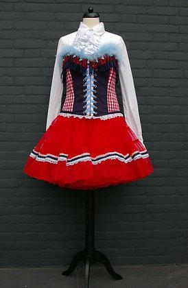 Corset Brabant met Petticoat