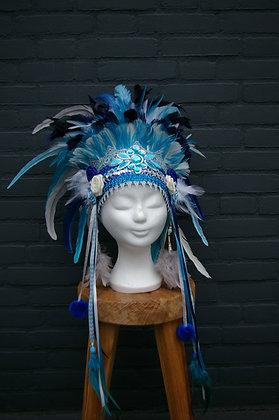 Verentooi Blauw Wit