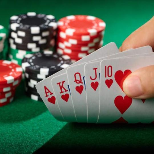 Postponed Sr. Olympics Poker