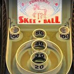 Postponed Sr.Olympics Skee Ball