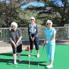 Postponed Sr. Olympics Mini Golf