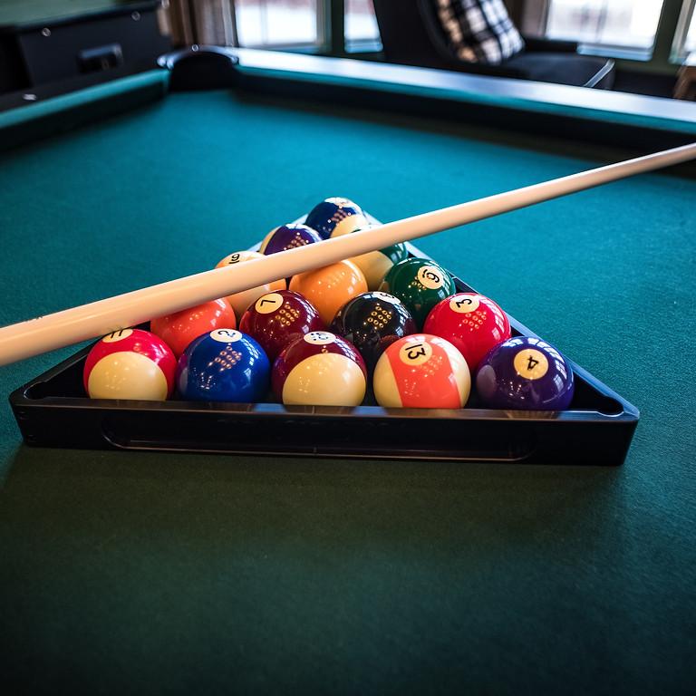 Postponed Sr. Olympics Events Billiards