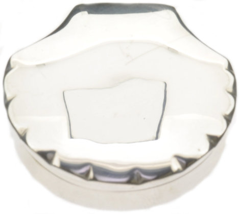 Silver Shell Box