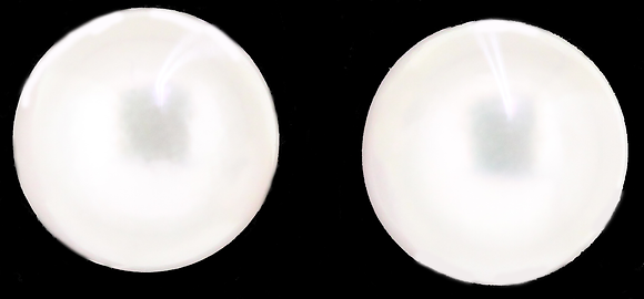 9ct Gold Pearl Stud Earrings