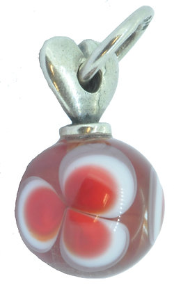 Red Valentine Love Tassle Bead, Valentines Day, Limited Edition