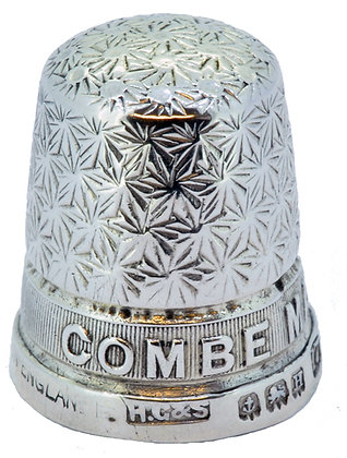 Silver HG&S Combe Martin Thimble