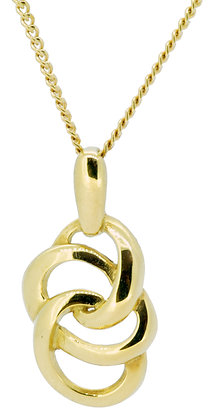 18ct Yellow Gold Triple Loop Necklace