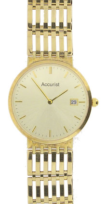 9ct Yellow Gold Accurist Watch