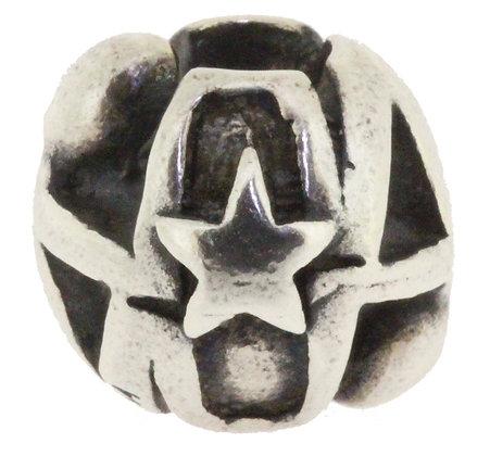 Trollbeads Gemini, Silver, Star Signs