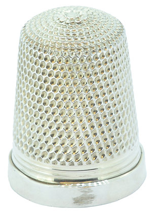Silver James Swan Thimble