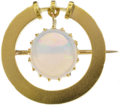 Antique Opal brooch