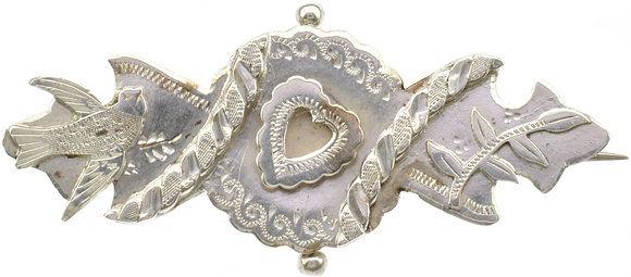 Antique Silver Sweetheart