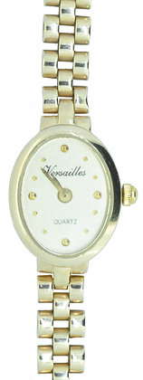 Yellow Gold Versailles Watch Front