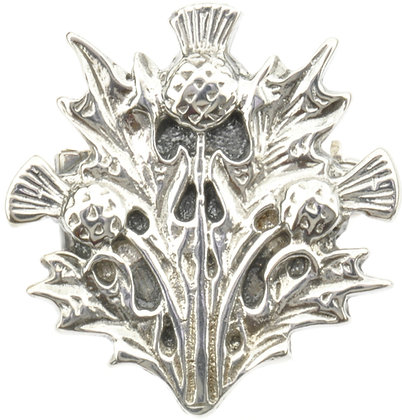 Vintage Scottish Silver Brooch