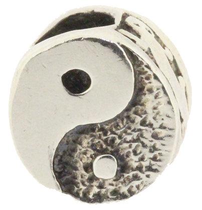 Retired Trollbeads Yin-Yang, Silver