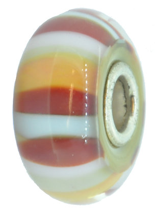 Trollbeads, Strawberry Stripe