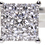 18ct white gold 0.45ct diamond cluster ring front view