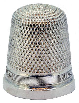 Silver HG&S Thimble