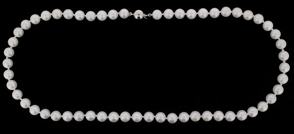 7mm-7.5mm Akoya cultured pearl necklace